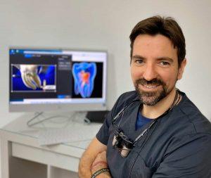 dr javier barrera endodoncista clinica ilzarbe