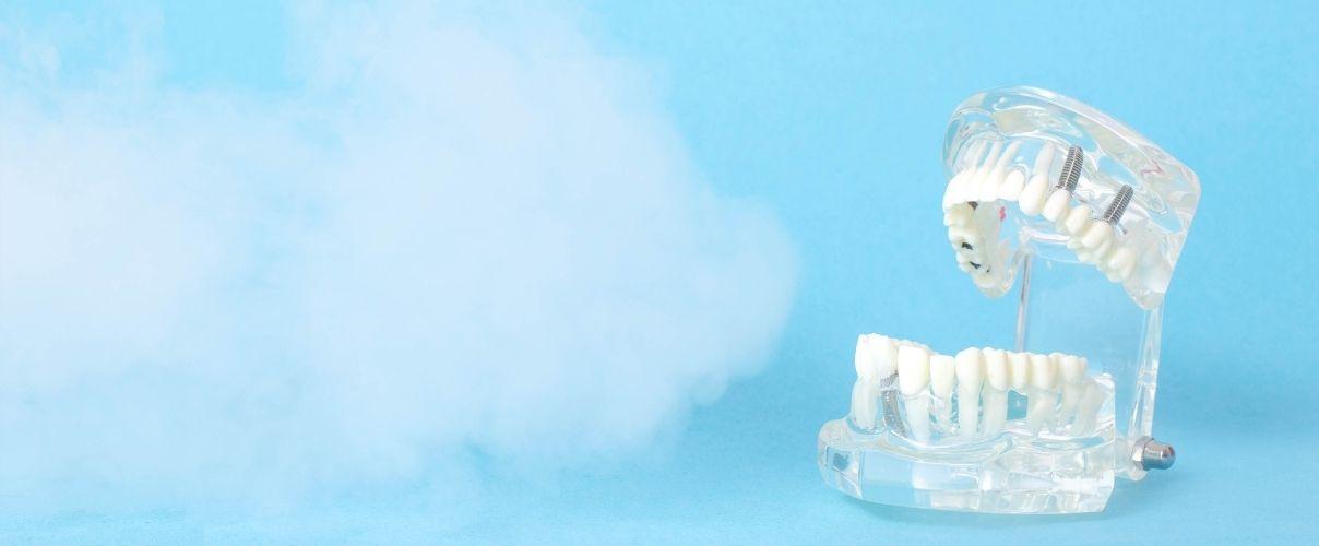 aplicación de ozono en odontologia clinica ilzarbe