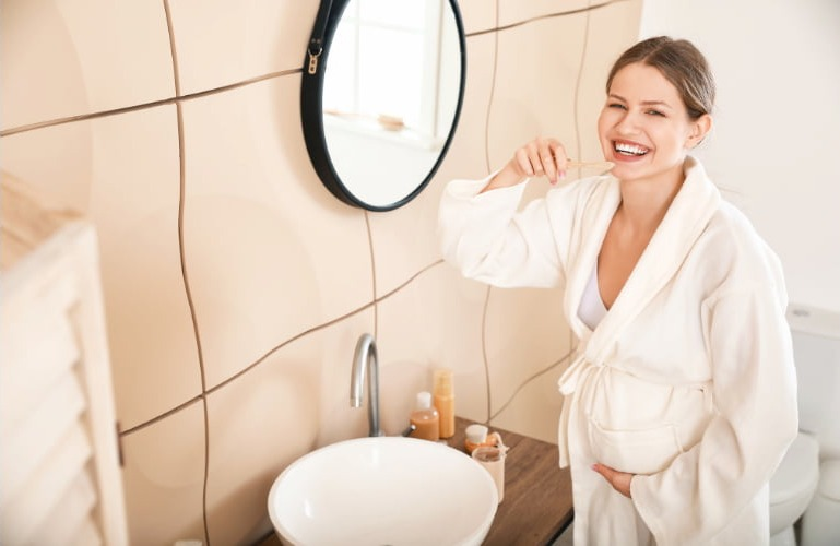 salud bucodental durante el embarazo clinica ilzarbe
